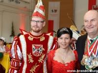Empfang der Prinzenpaare bei Dr. D. Woidke 2015_27
